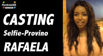 Casting on line FilmMaker Channel: selfie-provino Rafaela
