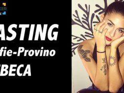 Casting on line FilmMaker Channel: selfie-provino Rebeca
